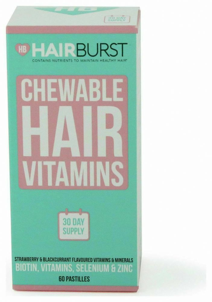 Hairburst Strawberry and Blackcurrant Hair Vitamin Gummies - 1 Month